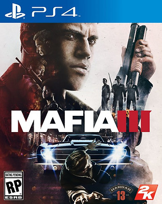 Mafia 3 PS4 (III) Sony PlayStation 4 Brand New Sealed FREE SHIPPING Worldwide