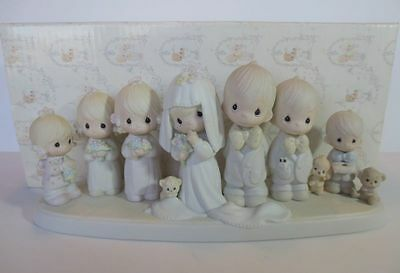 Precious Moments figurine  'Wedding Party' '83  Limited Edition #E2838 - Retired