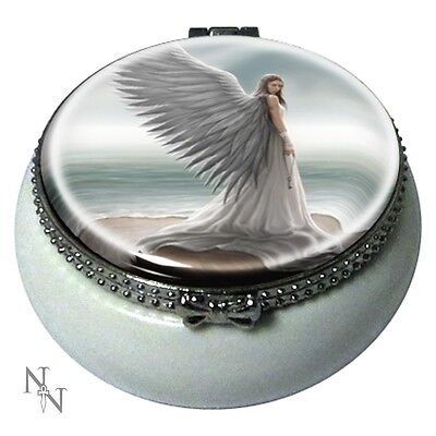 Anne Stokes officially licensed Trinket box Spirit Guide Angel