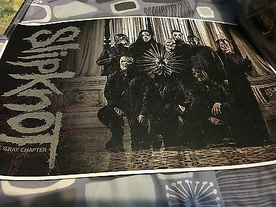 Slipknot Official Vip Poster Limited Edition Rare Europe Tour 2016