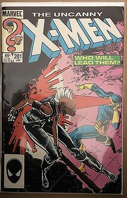 The Uncanny X-Men #201 ⭐️ 1st First Baby Cable ⭐️ Marvel Comics ⭐️ VG