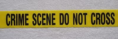 Crime Scene   Do Not Cross Tape  -  25 Feet - Great Party Supplies  Decorations