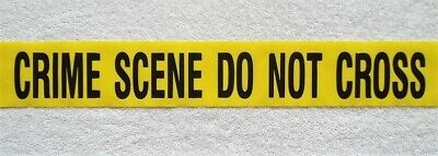 Crime Scene   Do Not Cross Tape  -  50 Feet - Great Party Supplies  Decorations