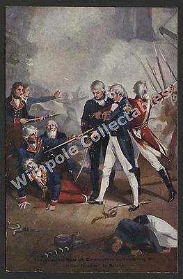 Lord Horatio Nelson, c1905, 'San Nicolas' Surrender. G & P, Postcard. (3213)