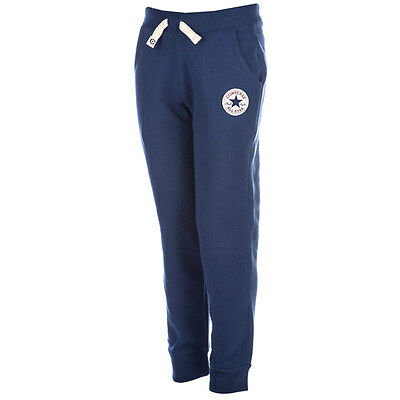 Designer CONVERSE 'All Star' Boys Jogging Bottoms Blue NEW SEASON'S SALE SALE