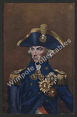 Lord Horatio Nelson, c1905, Portrait. G & P, Printed Postcard. (3210)