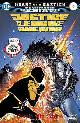 Justice League Of America #6 (2017) 1St Printing Dc Universe Rebirth
