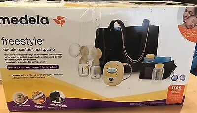 Medela Freestyle Double Electric BreastPump Deluxe Set 67060