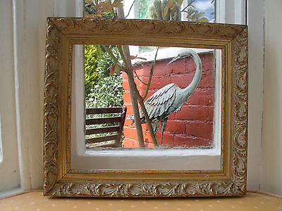 Ornate Antique Style Gilt Coloured Picture Frame (At16)