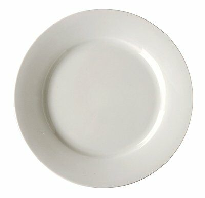"""Vertex China ARG-16 Argyle and Catalina RE Plate, 10-1/4"""", Porcelain White Pack"""