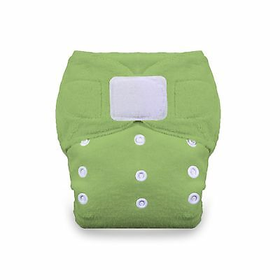 Thirsties Duo Fab Fitted Cloth Diaper with Hook and Loop Meadow Size 1 New