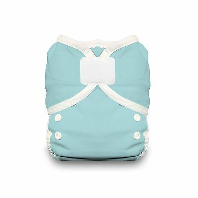 Thirsties Duo Wrap Diaper Cover with Hook and Loop Aqua Size 1 New