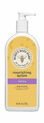 Burt's Bees Baby Bee Calming Lotion 12 Ounces (Packaging May Vary) New
