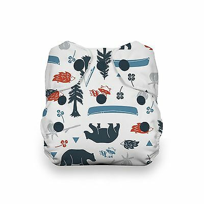 Thirsties Snap Natural Newborn All in One Adventure Trail New