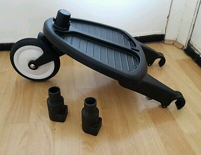 Genuine bugaboo cameleon, frog and gecko wheeled board with adapters #