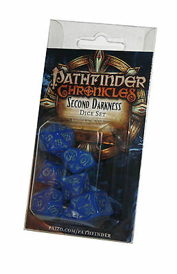 PATHFINDER-SET-DICE SET-Second Darkness-W4,W6,W8,W10,W12,W20,W100-(00)-neu-new