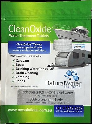 Clean Oxide Water Treatment Tablets