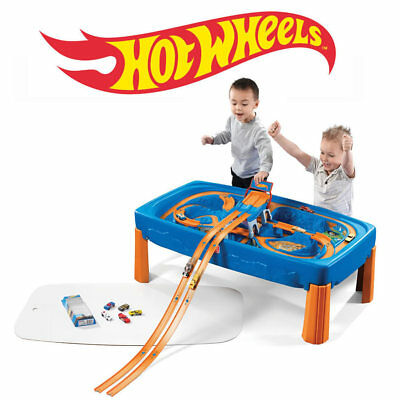 Hot Wheels Car & Track Play Table Step2 Pretend Play Playset NEW