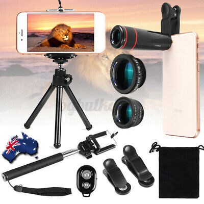 All in1 Accessories Phone Camera Lens Top Travel Kit For iPhone X 8 7 6S 6 DC600
