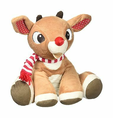 "Kids Preferred 23016 The Red-Nosed Reindeer Rudolph 8"" Plush New"