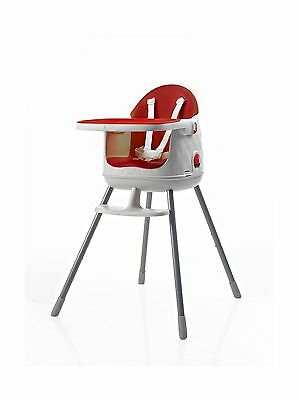 Keter 3946 Multi-Dine High Chair Red New