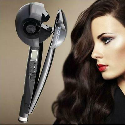 Automatic LCD Ceramic Curling Iron Wavy Hair Curler Roller tool FAST AU SHIPPING