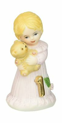 Growing up Girls from Enesco Blonde Age 1 Figurine 2.5 IN New