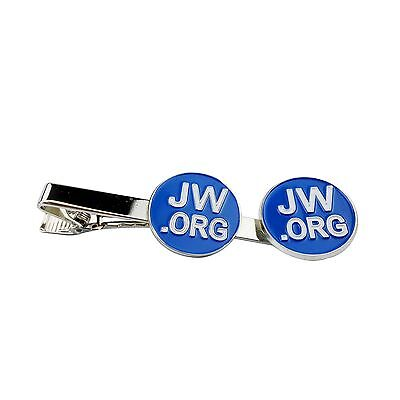 JW.ORG High Quality Metal Lapel Pin And Necktie Clip Gift Set with Imprin... New