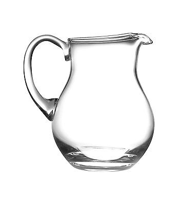 Majestic Gifts AT-100 European Handmade Glass Round Pitcher 64 oz New