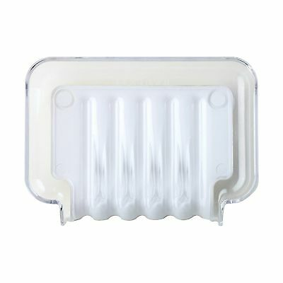 Better Living Products The Trickle Soap/Sponge Tray White New