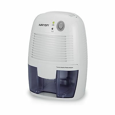 Ivation DehumMini Powerful Small-Size Thermo-Electric Dehumidifier - Quie... New