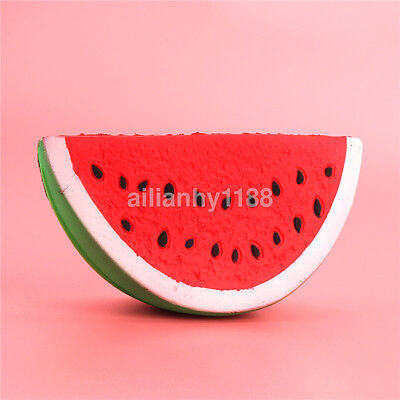 Squishies Watermelon Fruit Slow Rising Simulation Stress Stretch Kids Toys UK