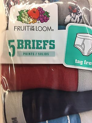 FRUIT OF THE LOOM BOYS BRIEFS S Size-6-8 ALL SEASONS MULTI COLOR, & VARIOUS
