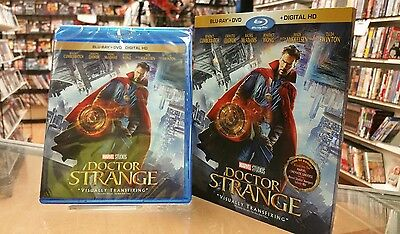 Doctor Strange (Blu-ray/DVD, 2017, 2-Disc Set, Includes Digital Copy) BRAND NEW
