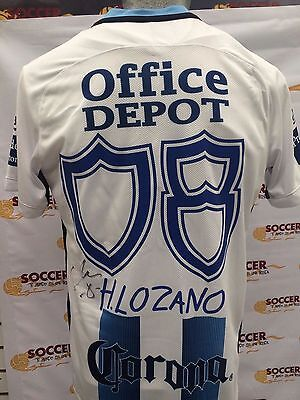 Jersey Pachuca Signed by Hirving Lozano Mexico Liga MX Photo Proof