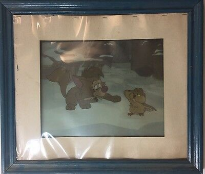 Vintage Original Disney Cel With Certificate In The Back