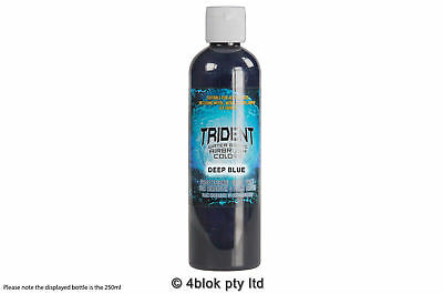 DNA Trident airbrush paint deep blue waterbased 250ml T10-250
