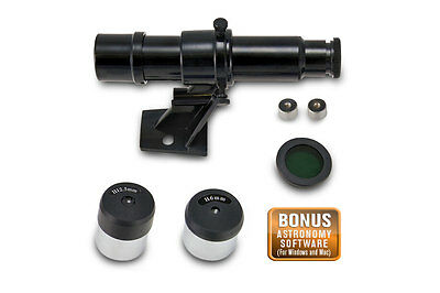 Celestron FirstScope Accessory Kit 21024-ACC - Finderscope + Moon Filter & More!