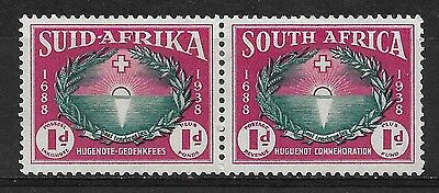 SOUTH AFRICA 1939 Huguenot Landings Mint Hinged.