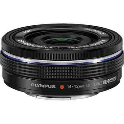 Olympus M.Zuiko Digital ED 14-42mm f/3.5-5.6 EZ Lens (black)
