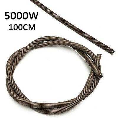 """Heating 5000W 220V Kiln Furnace Heating Element Resistance Wire 1000mm/39.3"""" Dia"""