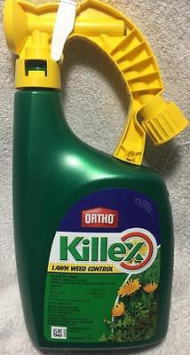 ORTHO Killex Lawn Weed Control Ready-to-Spray 1L Herbicide solution NEW!