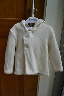 Purebaby thick cotton wool coat jacket EUC perfect for winter size 1