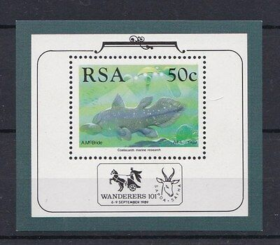 Sud Africa South Africa 1989 Bf 22 Esposizione filatelica Wanderers 101 MNH