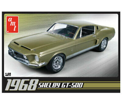 1968 Shelby GT500 -- Plastic Model Car Kit -- 1/25 Scale -- #634 AMT