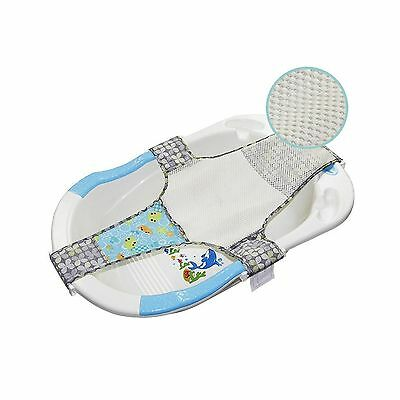 Kangaroobaby Newborn Adjustable Bath Seat Net Mesh Sling Safety Bathing B... New