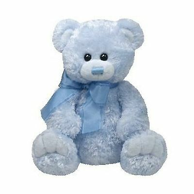 TY Classic Plush - RADCLIFFE the Blue Bear (9.5 inch) New