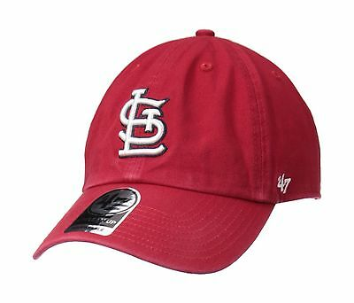 47 Brand St. Louis Cardinals Clean Up Adjustable Cap (Cardinal Red) New