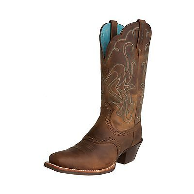 Ariat Women's Legend Western Boot Distressed Brown 6 M US New