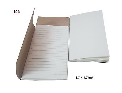 "7Felicity Refill books For Classic Genuine Leather Notebook 8.7""  5"" - Tw... New"